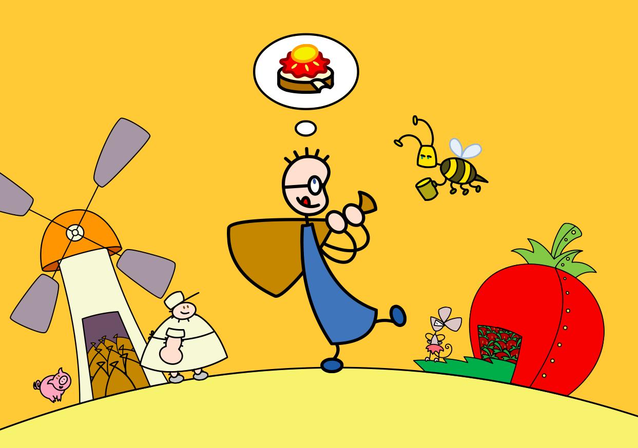 Tom und das Erdbeermarmeladebrot mit Honig (2005-2009