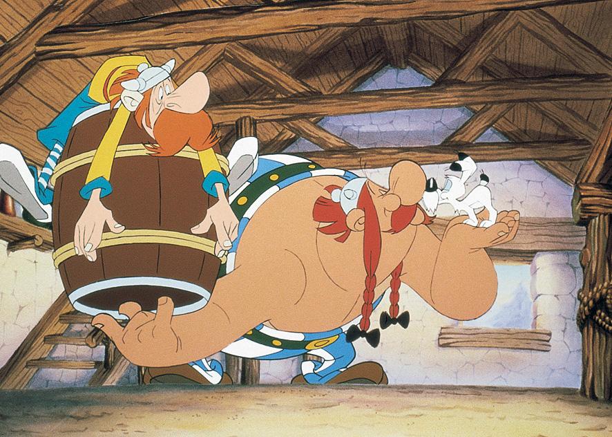 """""""Korridor links, letzte Tür rechts"""": Im Labyrinth der Asterix-Filme"""