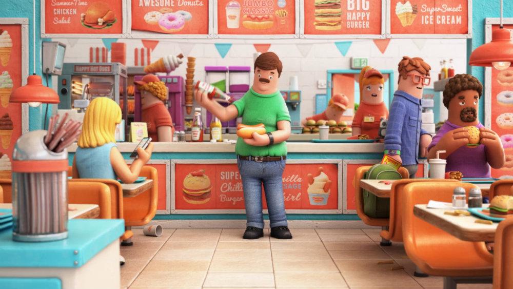 Kurzfilm zum Wochenende: Happy Food (2012)