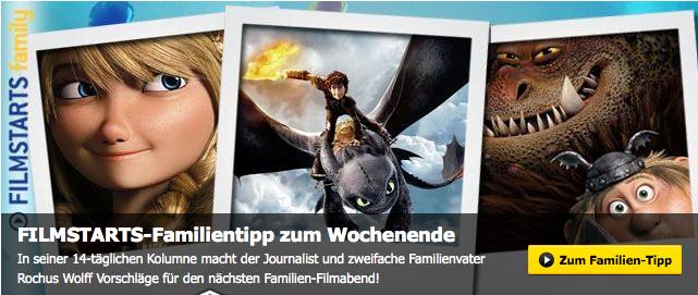 Neue Kolumne bei filmstarts.de