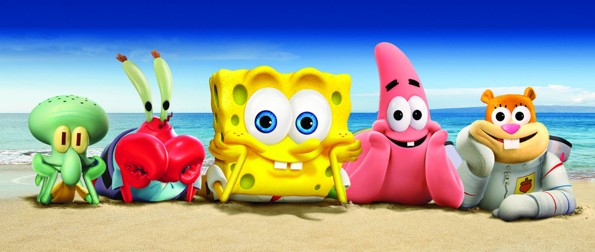spongebob schwammkopf schwamm aus dem wasser 2015. Black Bedroom Furniture Sets. Home Design Ideas