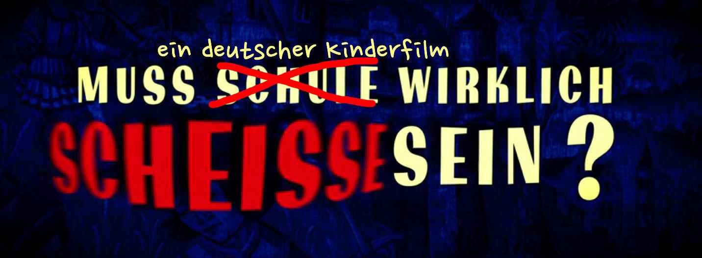 Deutsches Kino, wir müssen reden!