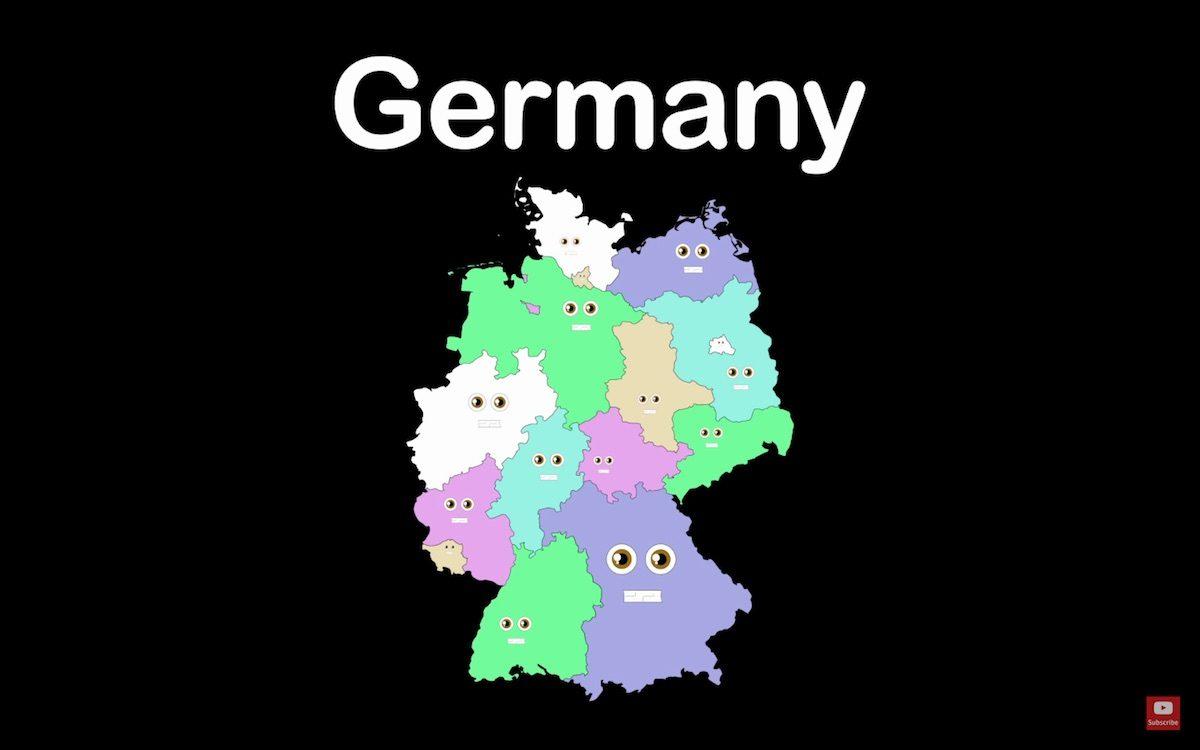 Kurzfilm zum Wochenende: Die 16 Bundesländer Deutschlands (2017)