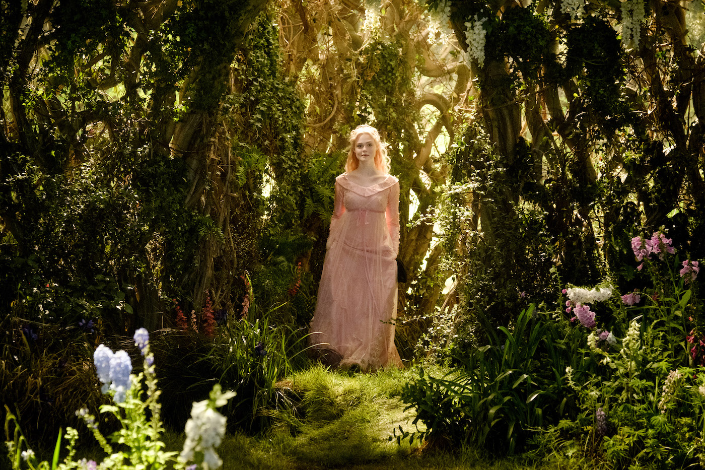 Elle Fanning is Aurora in Disney's live-action MALEFICENT:  MISTRESS OF EVIL