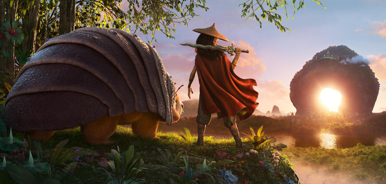 Szenenbild aus 'Raya und der letzte Dache'